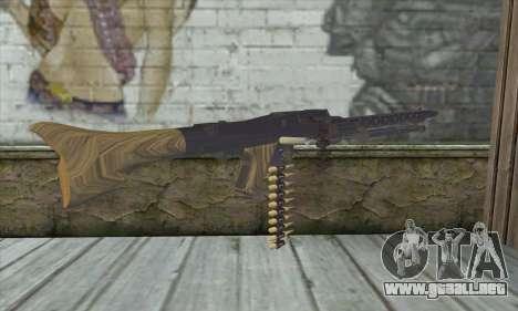 MG42 para GTA San Andreas segunda pantalla