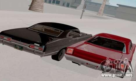 Plymouth Road Runner 383 1969 para la vista superior GTA San Andreas