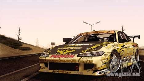 Nissan Silvia S15 TopSecret para GTA San Andreas