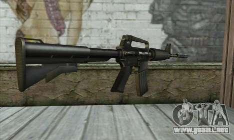 M4 из Conter Strike para GTA San Andreas segunda pantalla