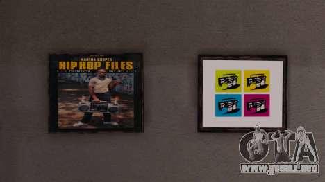 Nuevos carteles en el apartamento de Playboy para GTA 4 quinta pantalla