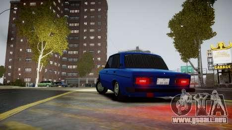 VAZ 2106 Baku para GTA 4 Vista posterior izquierda