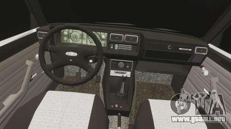 El USO de-Lada 2107 para GTA 4 vista lateral