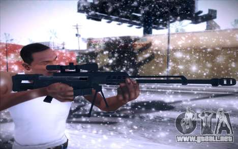 Barrett AS50 para GTA San Andreas