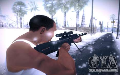 Barrett AS50 para GTA San Andreas tercera pantalla