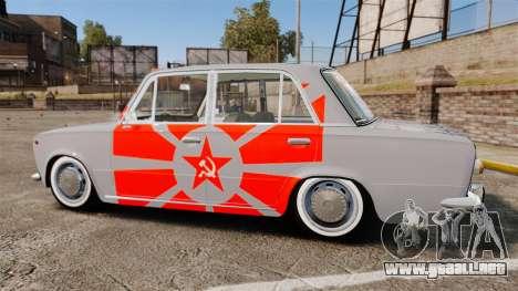 VAZ-Lada 2101 URSS para GTA 4 left