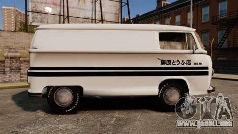 Volkswagen Transpoter 2 1975 para GTA 4 left