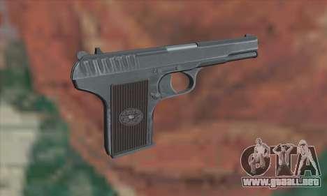 TT Pistol para GTA San Andreas segunda pantalla