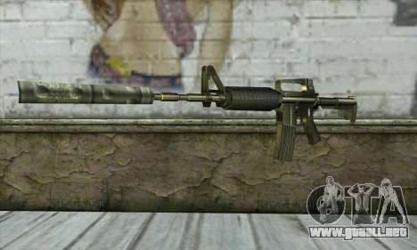 M4 из Conter Strike para GTA San Andreas