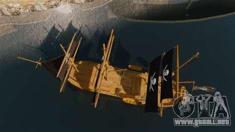 Barco pirata para GTA 4 visión correcta