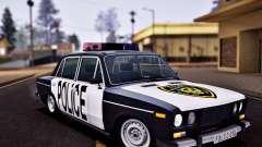 Policía 2106 VAZ