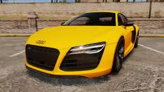 Audi R8 V10 plus Coupe 2014 [EPM] [Update] para GTA 4