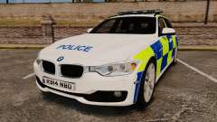 BMW 330d Touring (F31) 2014 Police [ELS] para GTA 4