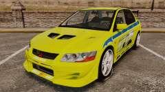 Mitsubishi Lancer Evolution VII 2002 para GTA 4