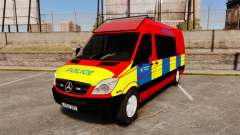 Mercedes-Benz Sprinter 313 CDI Police [ELS] para GTA 4