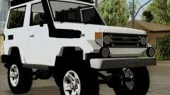 Toyota Land Cruiser Machito 2009 LX para GTA San Andreas