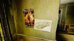 Nuevos carteles en el apartamento de la Novela