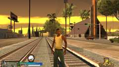 C-HUD Old School para GTA San Andreas