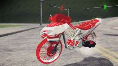 Vario Drag version JKT48 para GTA San Andreas