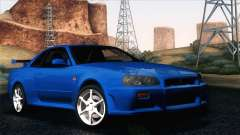 Nissan Skyline GT-R R34 V-Spec para GTA San Andreas
