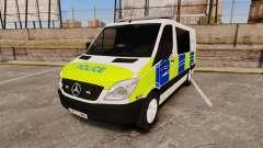 Mercedes-Benz Sprinter 211 CDI Police [ELS] para GTA 4