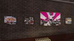 Nuevos carteles en el apartamento de Playboy