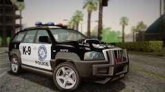 NFS Suv Rhino Heavy - Police car 2004 para GTA San Andreas
