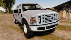Ford F-250 Super Duty Police Unmarked [ELS] para GTA 4