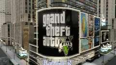 Carteleras de GTA 5