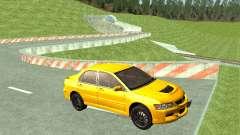 Mitsubishi Lancer Evolution седан para GTA San Andreas