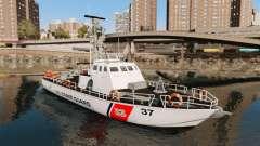 Канонерская barco U.S. Coastguard
