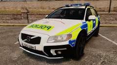 Volvo XC70 2014 Police [ELS] para GTA 4