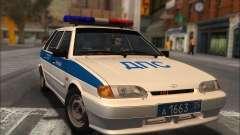 VAZ 2114 Policía DPS para GTA San Andreas