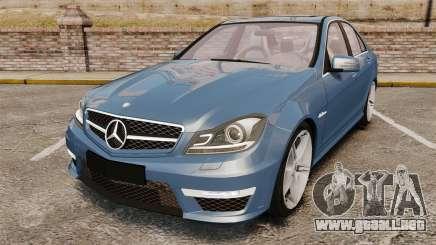 Mercedes-Benz C63 AMG 2013 para GTA 4