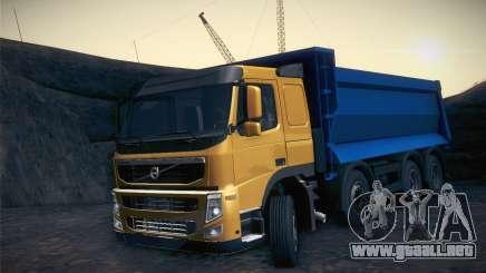 Volvo FM12 8X4 Dumper para GTA San Andreas
