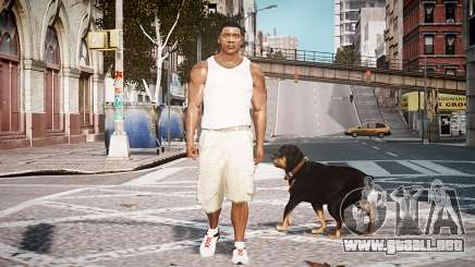Franklin Clinton GTA V para GTA 4