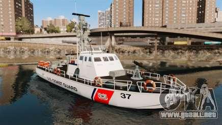 Канонерская barco U.S. Coastguard para GTA 4