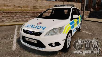 Ford Focus Estate British Police [ELS] para GTA 4