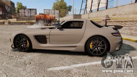 Mercedes-Benz SLS 2014 AMG NFS Stripes para GTA 4 left