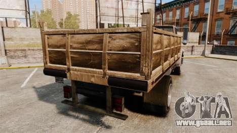 GTA IV TLAD Vapid Yankee para GTA 4 Vista posterior izquierda