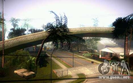 New Grove Street para GTA San Andreas sucesivamente de pantalla