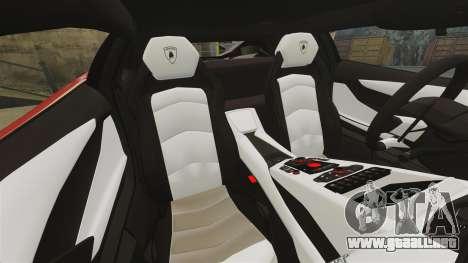 Lamborghini Aventador LP700-4 2012 [EPM] Miku para GTA 4 vista superior