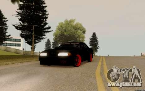 Elegy Bride para GTA San Andreas vista posterior izquierda