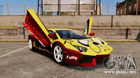 Lamborghini Aventador LP700-4 2012 [EPM] Jake para GTA 4 vista superior