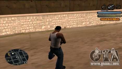 C-HUD Light para GTA San Andreas tercera pantalla