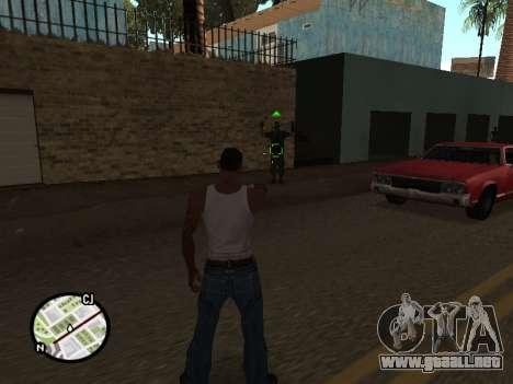 ProAim para GTA San Andreas segunda pantalla