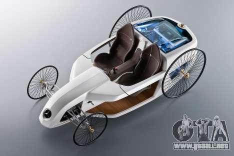 Inicio pantallas de Mercedes-Benz F-CELL Roadste para GTA 4 séptima pantalla