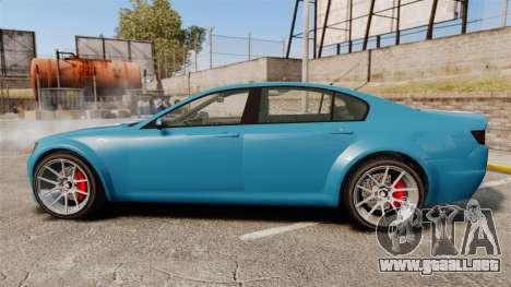 GTA V Cheval Fugitive new wheels para GTA 4 left