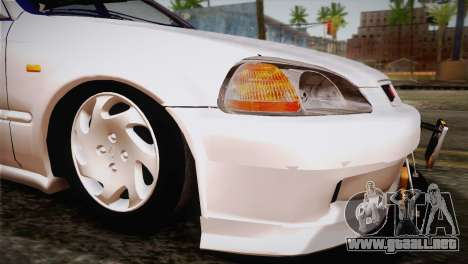 Honda Civic para visión interna GTA San Andreas