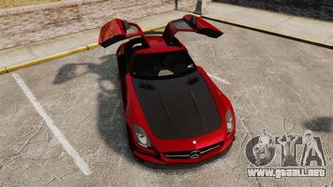 Mercedes-Benz SLS 2014 AMG GT Final Edition para GTA 4 vista superior